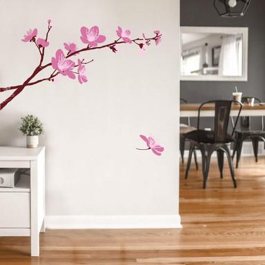 Wandsticker Kirschblüten 03