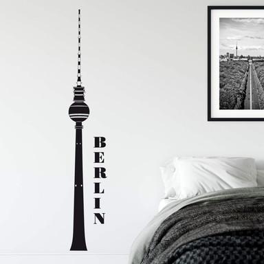 Wandtattoo Berliner Fernsehturm 2