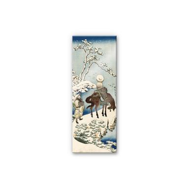 Acrylglasbild Hokusai - Der chinesische Dichter Su Dongpo