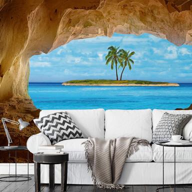 Fototapete Papiertapete Paradise - 366x254cm - Bild 1