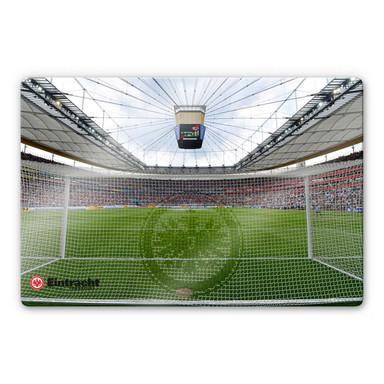 Glasbild Eintracht Frankfurt Arena Tornetz