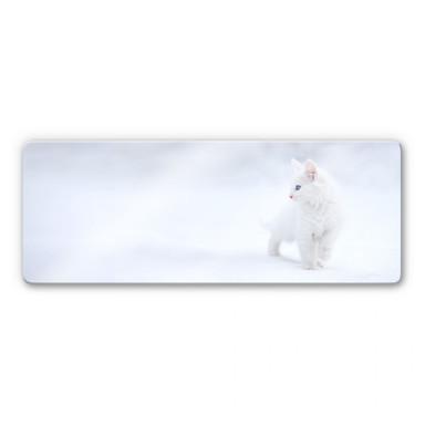 Glasbild Prexus - Weisser als Schnee