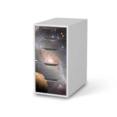 Klebefolie IKEA Alex 5 Schubladen - Milky Way