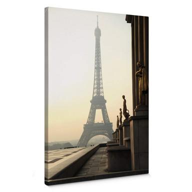 Leinwandbild Bonjour Paris