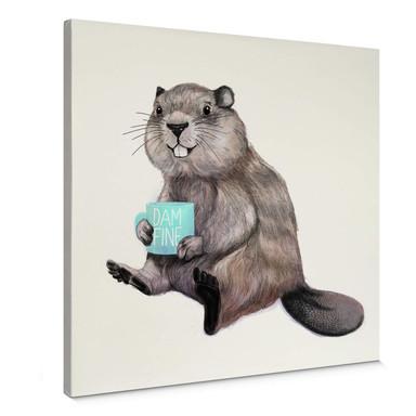 Leinwandbild Graves - Damn fine Coffee