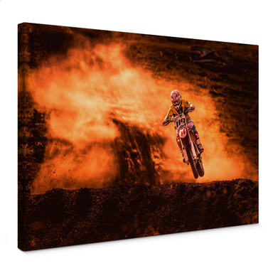 Leinwandbild Igor - Motorcross