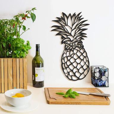 MDF - Holzdeko Ananas