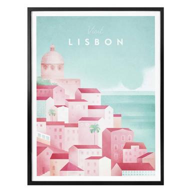 Poster Rivers - Lissabon