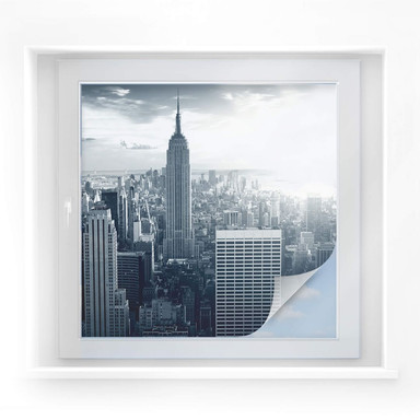 Sichtschutzfolie The Empire State Building - quadratisch