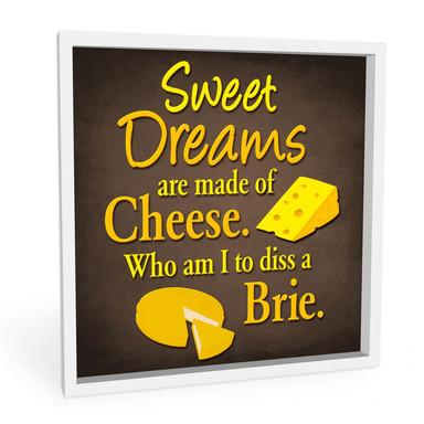 Wandbild Cheese Dreams
