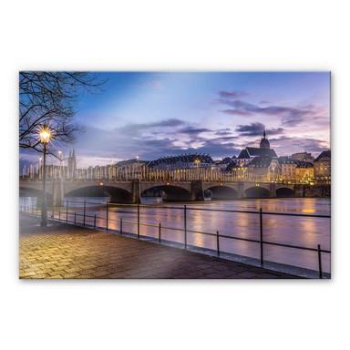 Acrylglasbild Huber - Middle Bridge