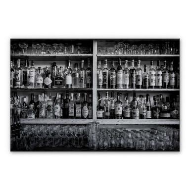 Alu-Dibond Bild Klein - The Classic Bar