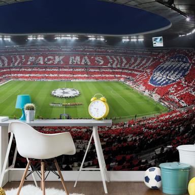 Fototapete Bayern München Stadion Choreo Pack Mas