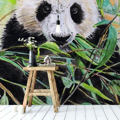 Fototapete Toetzke - Pandabär - 144x260cm - Bild 1