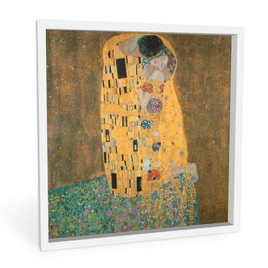 Hartschaumbild Klimt - Der Kuss