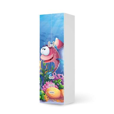 Klebefolie IKEA Stuva / Fritids - 3 Schubladen und 2 grosse Türen - Bubbles- Bild 1
