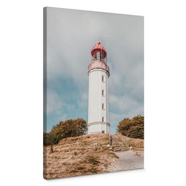 Leinwandbild Leuchtturm auf Hiddensee