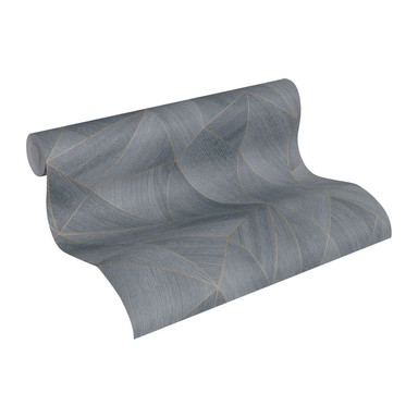 Daniel Hechter Vliestapete 3D Tapete geometrische Tapete grau, schwarz