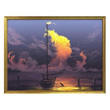 Poster aerroscape - Segelboot