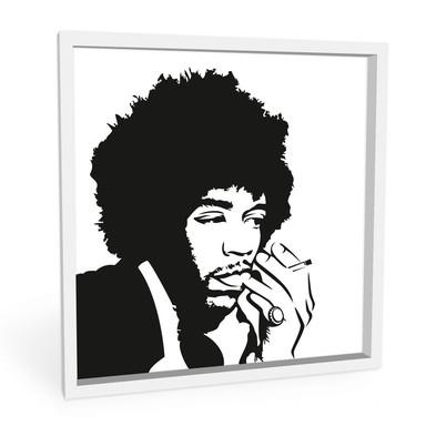 Wandbild Jimi Hendrix