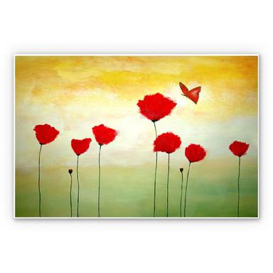 Wandbild Melz - Kleiner Schmetterling