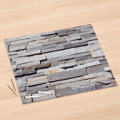 Folienbogen (120x80cm) - Granit-Wand