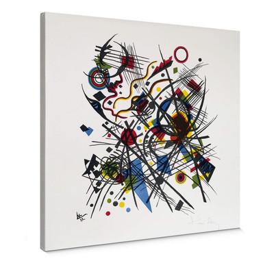 Leinwand - Kandinsky - Lithographie fuer die Bauhasmappe