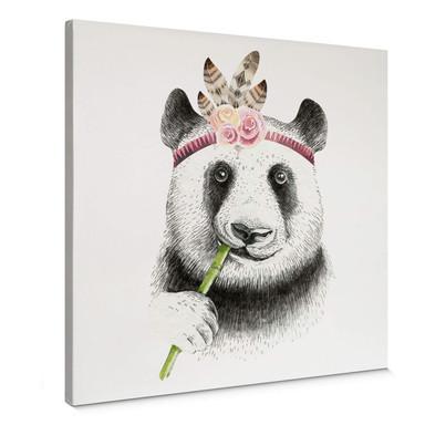 Leinwand Kvilis - Girlie Panda