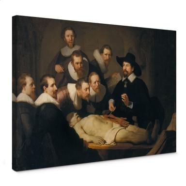 Leinwandbild Rembrandt - Die Anatomiestunde