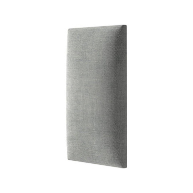 Polsterpaneel Mollis grau 90x15cm