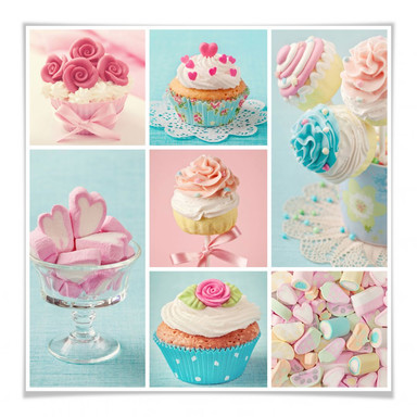 Poster Cupcake-Collage