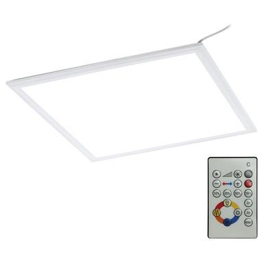 LED Panel Rasterleuchte mit Fernbedienung, RGBW, dimmbar, 450x450 mm