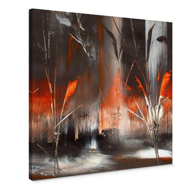 Leinwandbild Niksic - Feuer und Asche