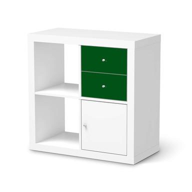 Möbelfolie IKEA IKEA Expedit Regal Schubladen - Grün Dark