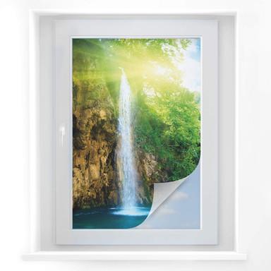 Sichtschutzfolie Blue Waterfall