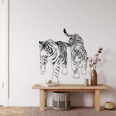 Wandtattoo Tiger 1