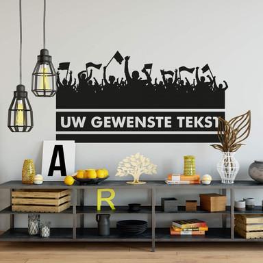 Wandtattoo & Wunschtext Fans