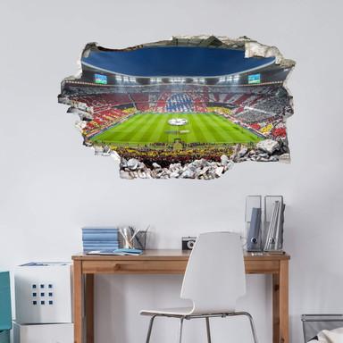 3D Wandtattoo FCB Stadion Immer weiter