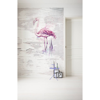 Fototapete Pink Flamingo