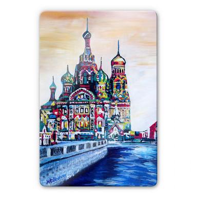 Glasbild Bleichner - St. Petersburg