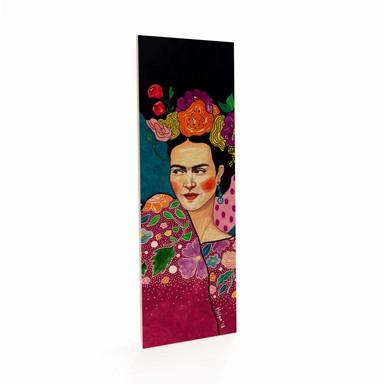 Holzposter Hülya - Frida - Panorama - 10x30cm - Bild 1
