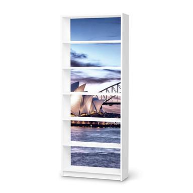Klebefolie IKEA Billy Regal 6 Fächer - Sydney- Bild 1