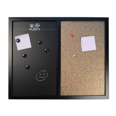 Kombiboard Magnettafel Korkpinnwand - 40x50cm - Bild 1
