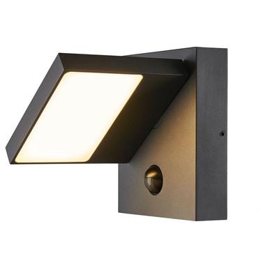 LED Wandleuchte Abridor 14W 750lm 3000K IP55 mit Bewegungsmelder
