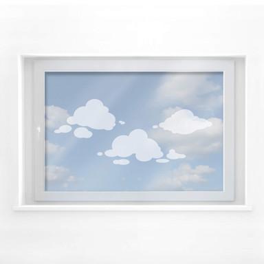 Milchglasfolie Wolken