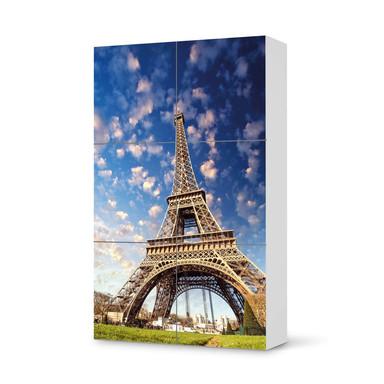 Möbel Klebefolie IKEA Besta Schrank 6 Türen (hoch) - La Tour Eiffel