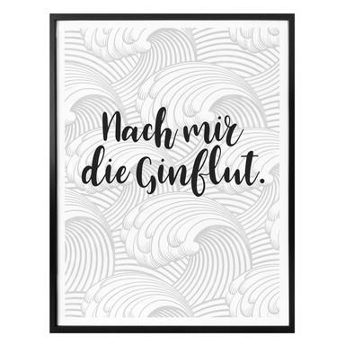 Poster - Nach mir die Ginflut