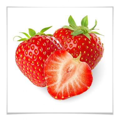 Poster Strawberries