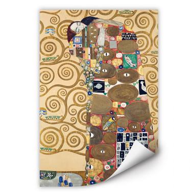 Wallprint Klimt - Die Erfüllung