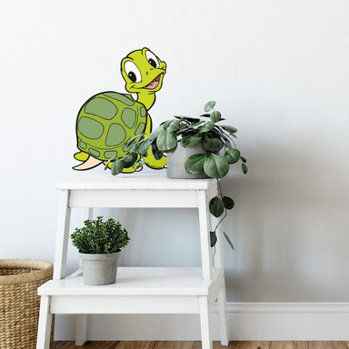 Wandsticker Benjamin Blümchen Schildkröte Samuel